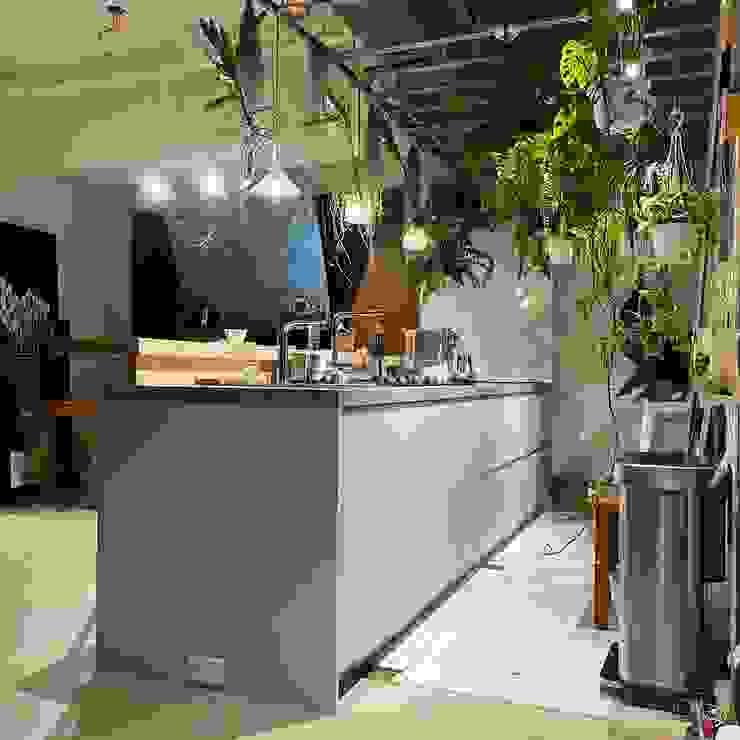 廚具整合規劃-淡水 畫家工作室 根據 可來新創股份有限公司 熱帶風