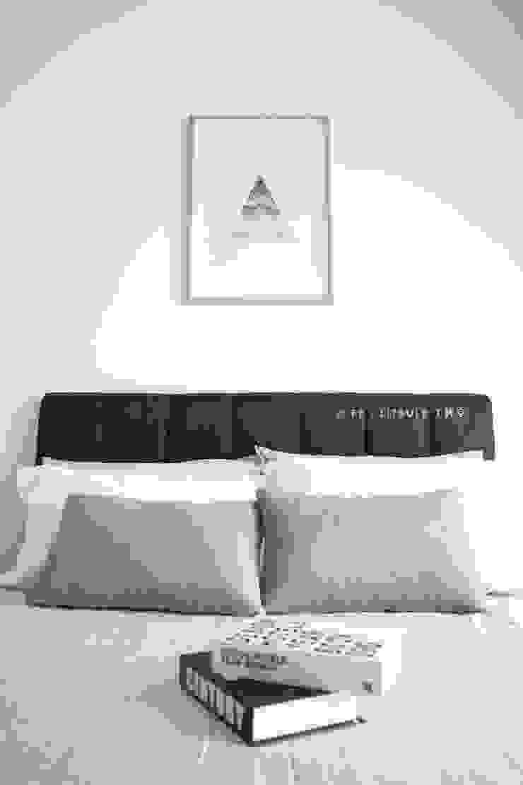 LITBULB Dormitorios de estilo escandinavo Blanco