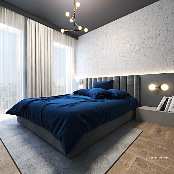Eclectic style bedroom by Ambience. Interior Design Eclectic