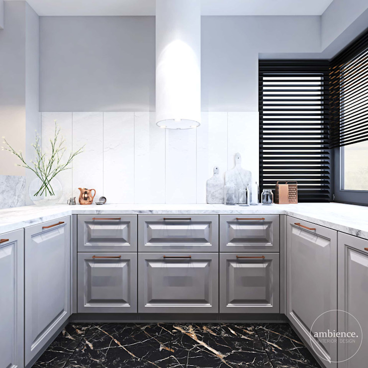 Ambience. Interior Design Eclectic style kitchen