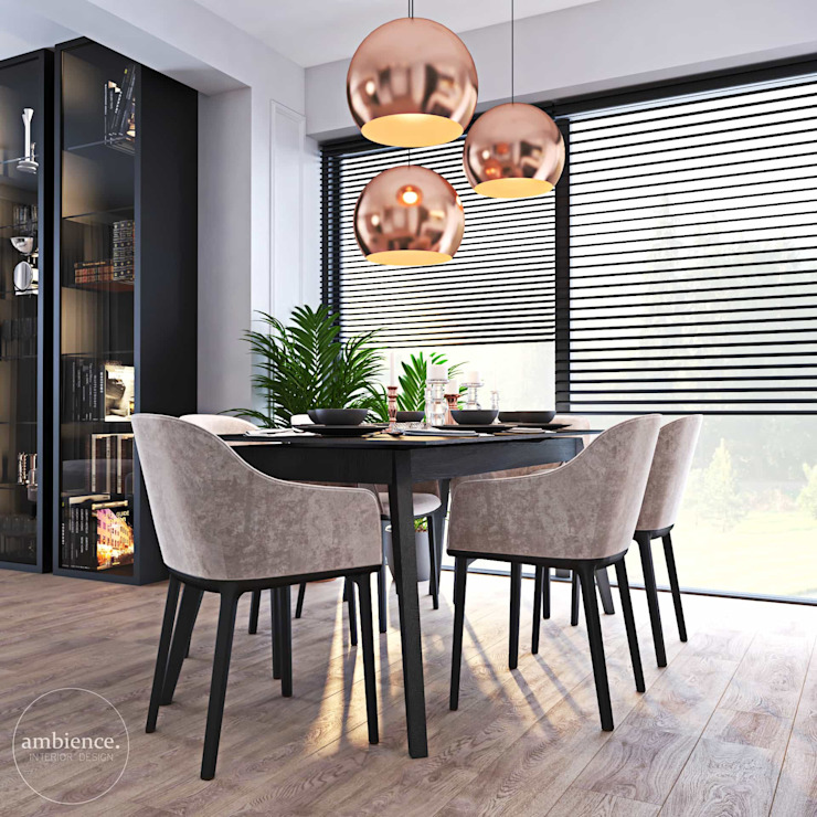 Ambience. Interior Design Eclectic style dining room