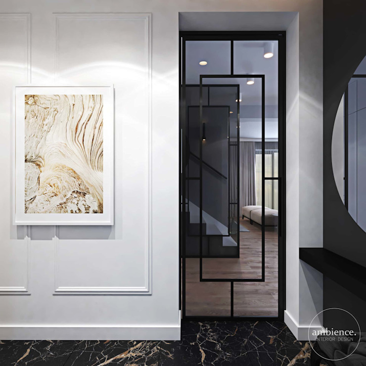 Ambience. Interior Design 隨意取材風玄關、階梯與走廊