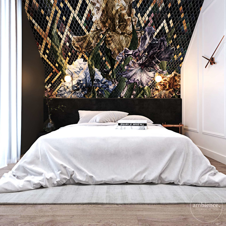 Ambience. Interior Design Eclectic style bedroom