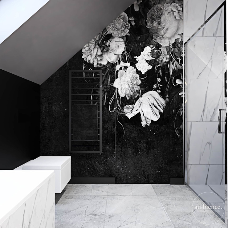 Ambience. Interior Design Eclectic style bathroom