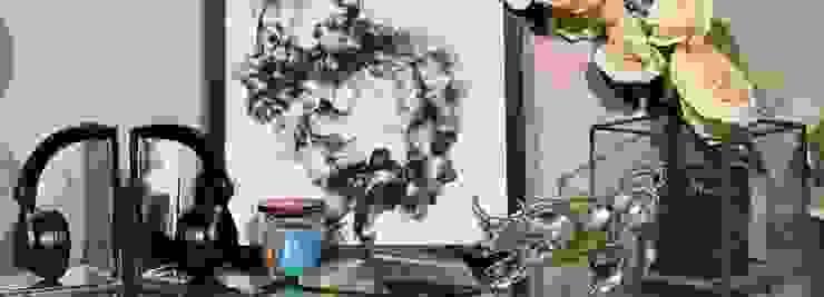 Adhvik Decor Living roomSide tables & trays Metal Grey