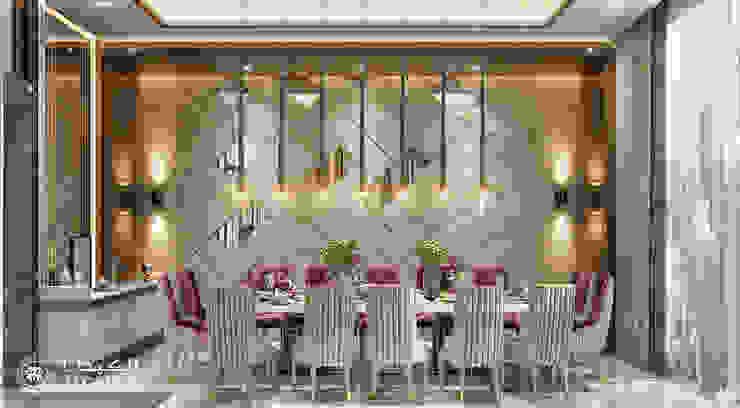Salas de jantar modernas por Algedra Interior Design Moderno
