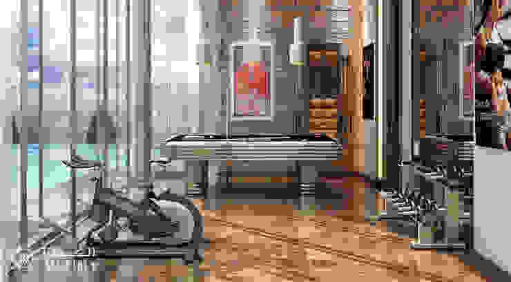 Fitness moderno por Algedra Interior Design Moderno