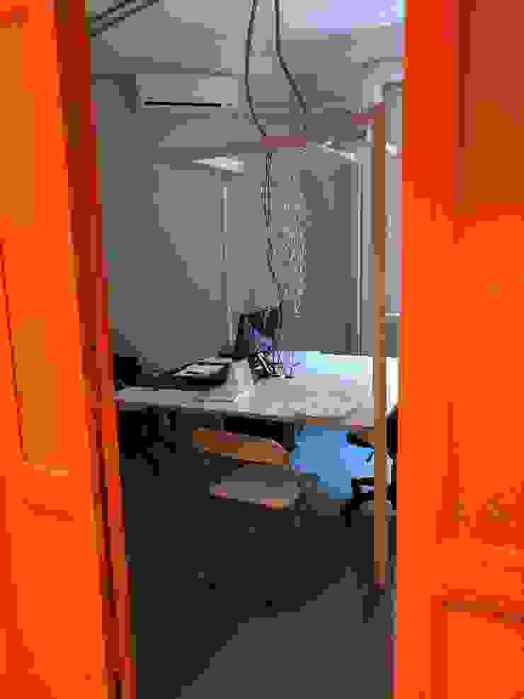 ibedi laboratorio di architettura Escritórios Betão Branco