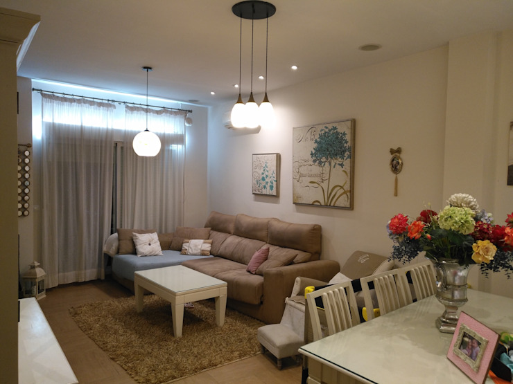 Domotica y Eficiencia Living roomLighting