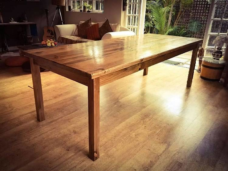 Bespoke Dining Table - Reclaimed Wood | Reclaim Design: classic  by Reclaim Design, Classic Wood Wood effect