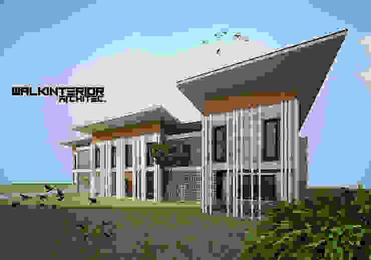 Home 2020 โดย walkinterior โมเดิร์น คอนกรีต