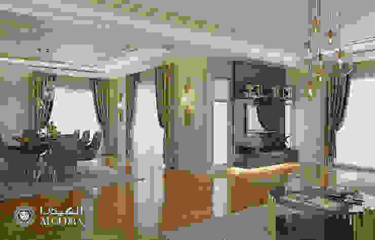 Small villa design in Abu Dhabi Modern living room by Algedra Interior Design Modern