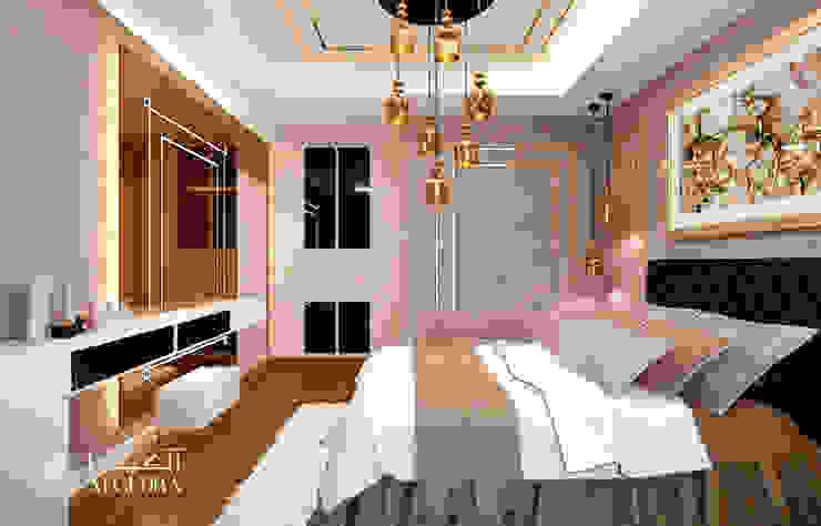 Small bedroom interior design in luxury villa by Algedra Interior Design Modern