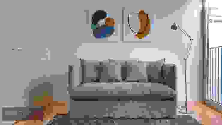 Closet + Quarto de hóspede Closets minimalistas por Aadna.Design Minimalista