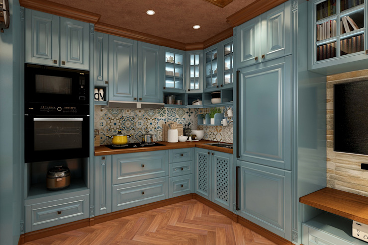 廚房 根據 西雅圖設計 古典風