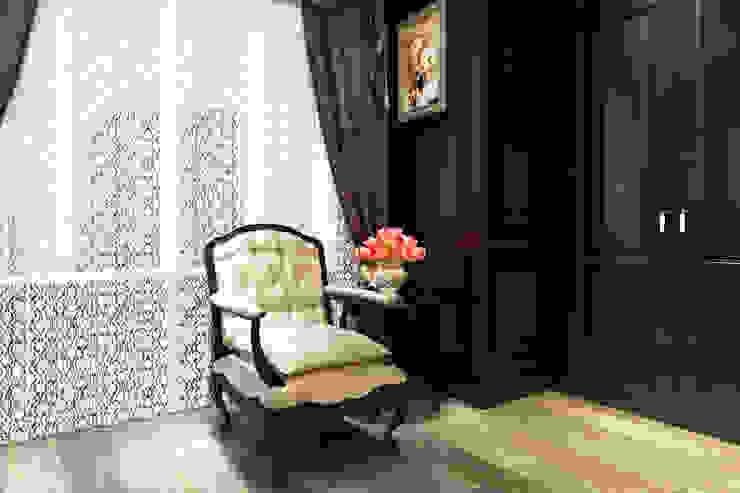 臥室 根據 西雅圖設計 古典風