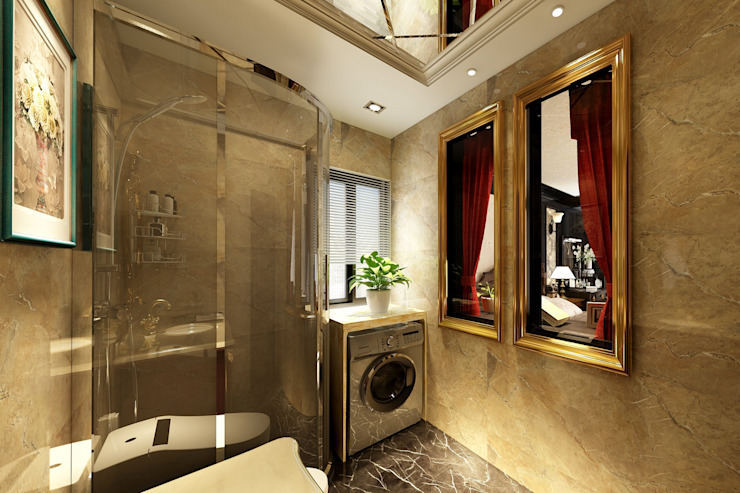 浴室 根據 西雅圖設計 古典風