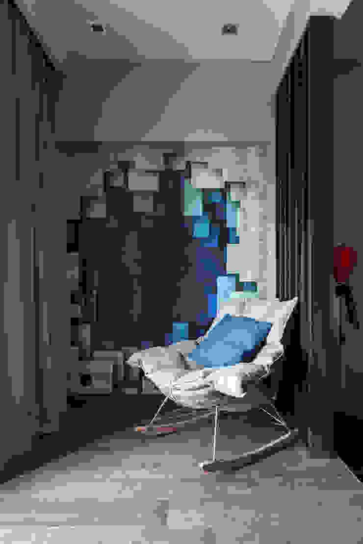 Софт-минимализм с комфортом, ЖК <q>Виноградный</q> Детская комнатa в стиле минимализм от Елена Бодрова Минимализм