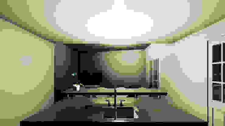 Apartamento Torres Novas Ao Cubo Cozinhas pequenas Granito Preto