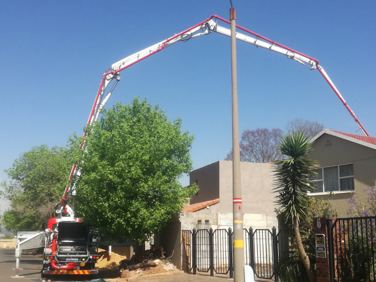 Concrete pumping,pouring and levelling Afrisom Projects Pty Ltd Floors