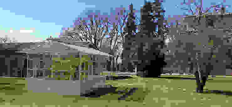 Orvieto Arte Garden Shed Iron/Steel White