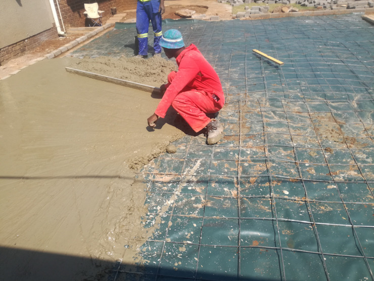 Concrete Levelling Afrisom Projects Pty Ltd Modern garage/shed