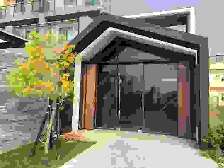 台中市清水區住店新建工程 根據 森然建築師事務所 現代風