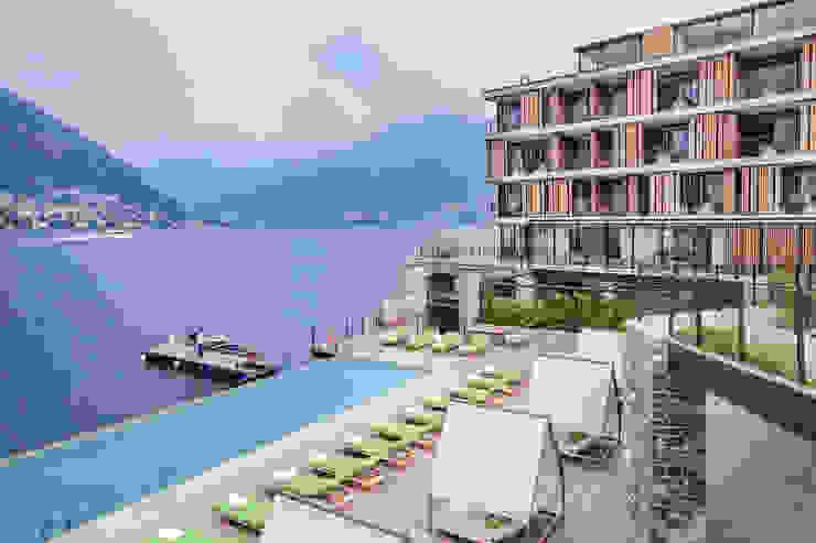 Hotel Il Sereno – Lago de Como – Italia – Grupo Fontanot Hoteles de estilo moderno de Ghenos Communication Moderno
