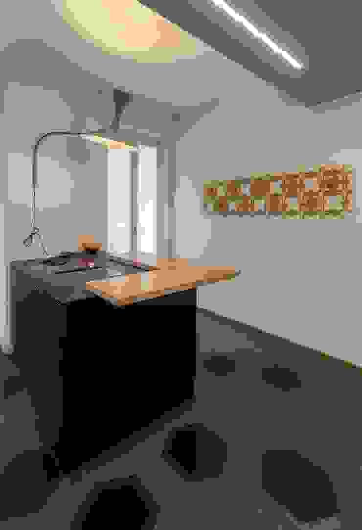 ornamenta, esagoni, nemo, lamp de marseille ristrutturami Cucina attrezzata MDF Grigio