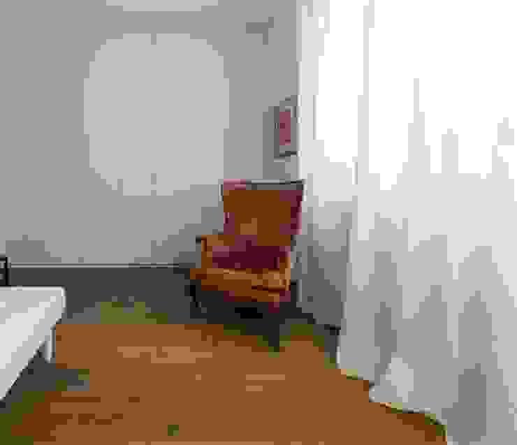 zona Tortona ristrutturami Camera da letto piccola Bianco