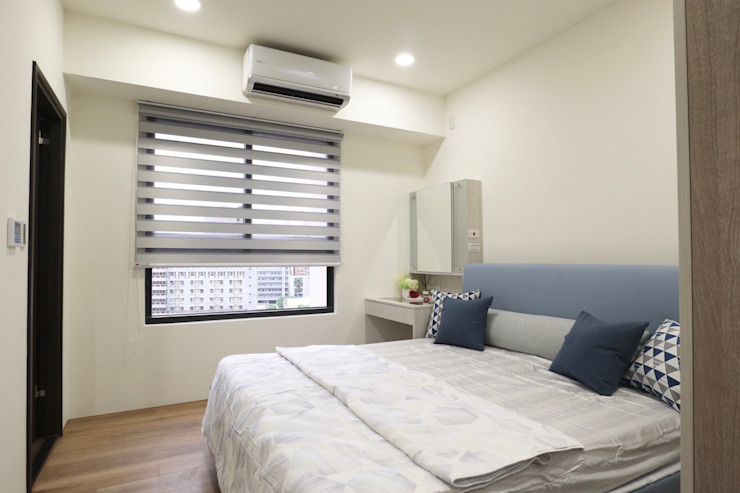 臥室 根據 張顥騰室內裝修設計有限公司 簡約風