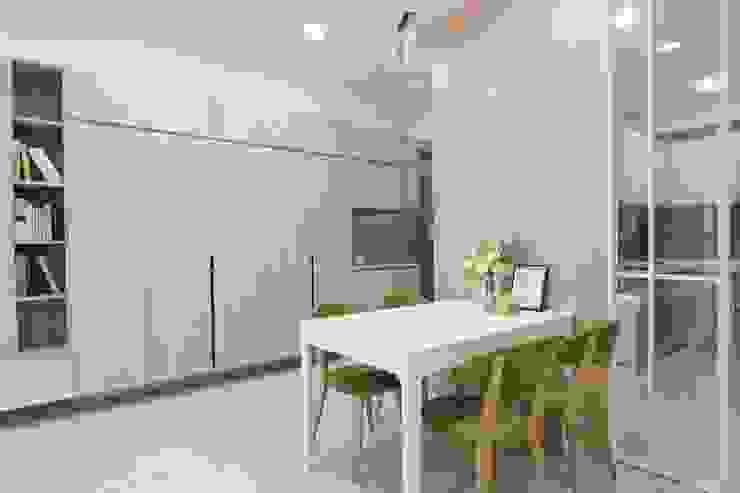餐廳 根據 張顥騰室內裝修設計有限公司 簡約風