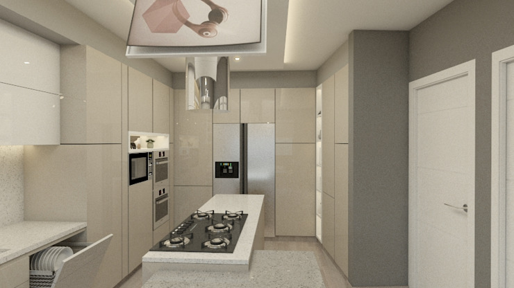 Cocina Cocinas de estilo moderno de Integral Design SAC Moderno