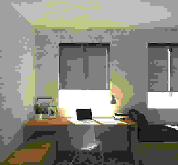 Escritório A78 Interiors Espaços de trabalho minimalistas