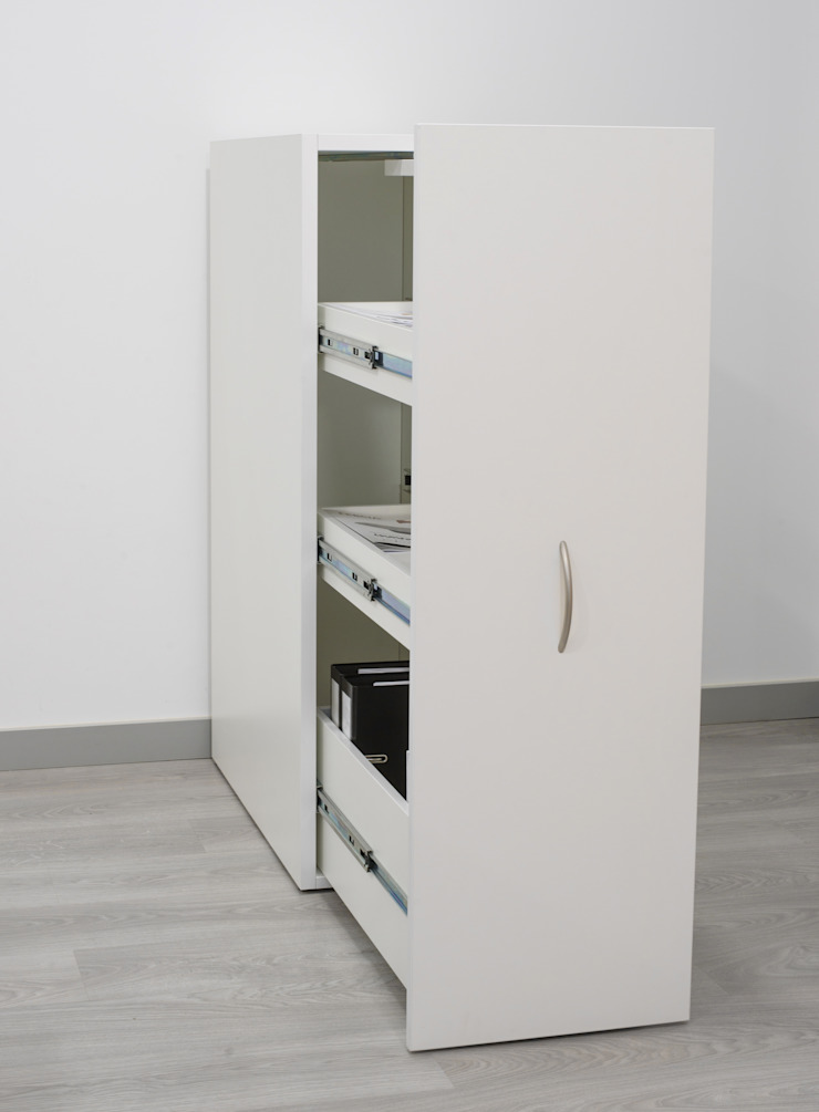 FERCIA - Furniture Solutions Study/officeCupboards & shelving Wood White