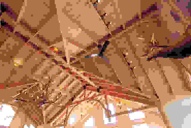 蝴蝶橋美食莊園-台中 根據 居林木構建築|木屋設計|木屋建造|木屋保養|整體規劃設計營建 田園風 木頭 Wood effect