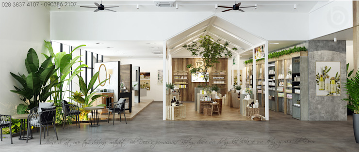 Long An - Showroom mixed Office bởi Bel Decor