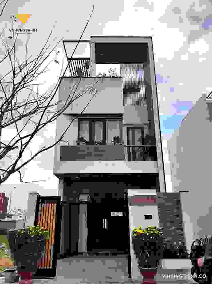_Thi công Nhà phố đẹp Đà Nẵng   Ms. Hoàng Công ty TNHH Xây dựng & Thương mại Vũ Hưng Thịnh