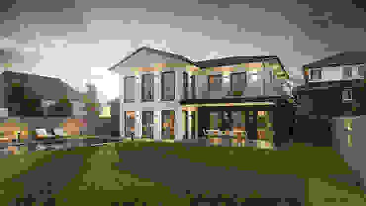 Architekturvisualisierung Matzerath Villas