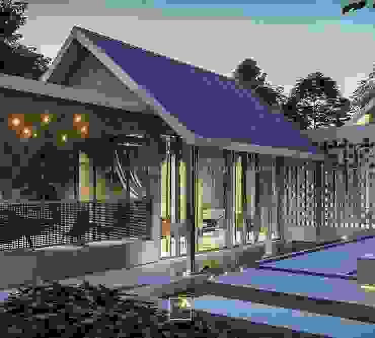 Hyu House - Garut, Jawa Barat Oleh Rancang Reka Ruang Modern Besi/Baja