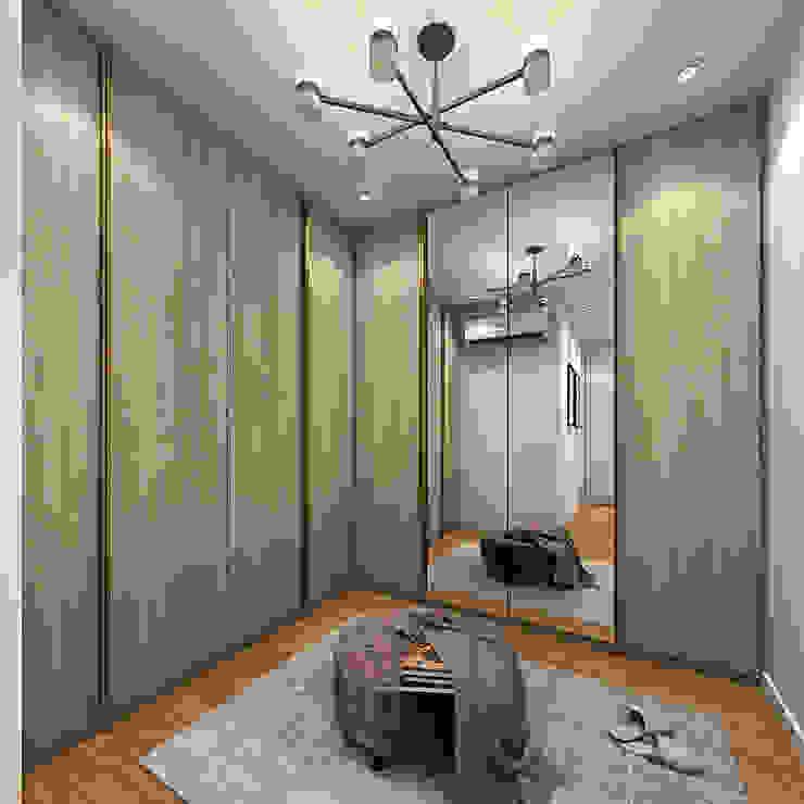 Option 2 Simsan Design Scandinavian style bedroom