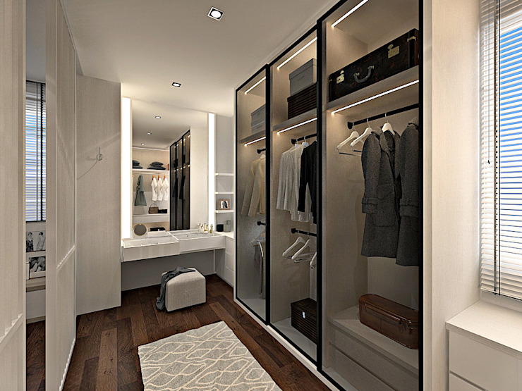 SRI PETALING 149K RESIDENCE Simsan Design Modern style bedroom