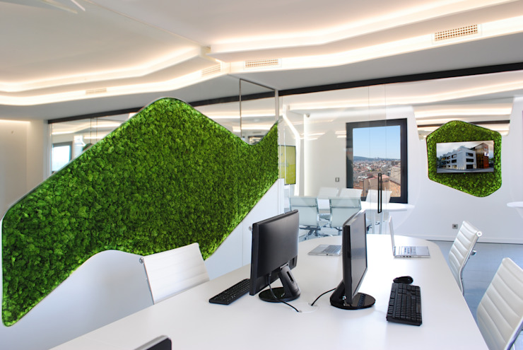 Modern offices & stores by MANUEL TORRES DESIGN Modern