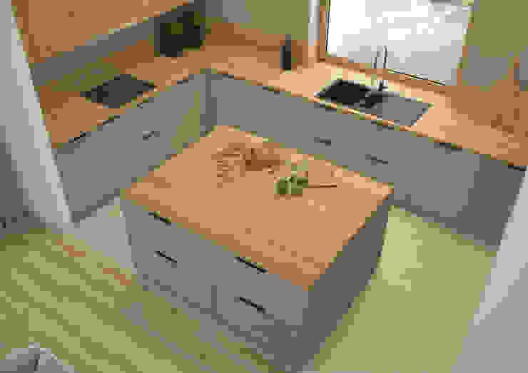Nevi Studio Cucina attrezzata Grigio