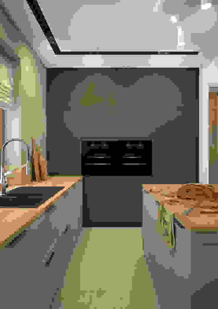 Nevi Studio Cucina moderna Nero