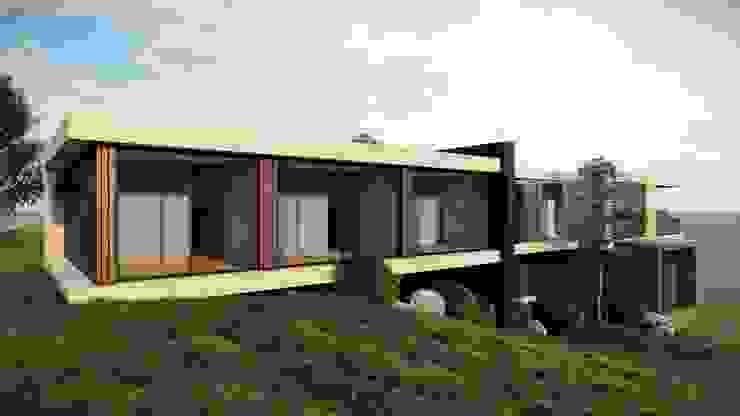 FACHADA SUR de IngeniARQ Arquitectura + Ingeniería