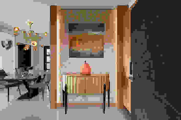 框景 現代風玄關、走廊與階梯 根據 極品家室內裝修設計工程有限公司 現代風