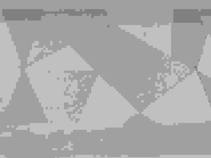 About a young home Pareti & Pavimenti in stile moderno di Laura Marini Architetto Moderno