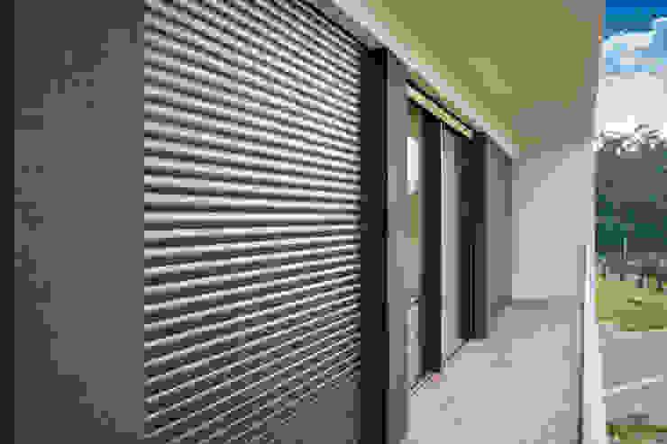 Mundartificial Shutters Aluminium/Zinc Black