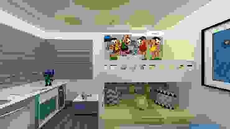 Quarto menino turma da mônica AD - Alice Lopes Designer de Interiores Quarto infantil tropical